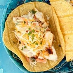 Baja Fish Tacos from KRAFT(R) recipe