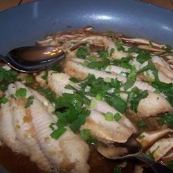 Asian Ginger Catfish recipe