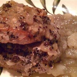 Quinoa Stuffed Pork Tenderloin recipe