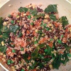 Brown Rice and Black Bean Salad recipe