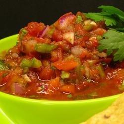 Sarah's Salsa recipe