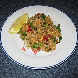 Chinese Chicken Rice Salad recipe