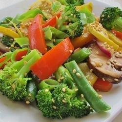 Stir Fried Wok Vegetables recipe