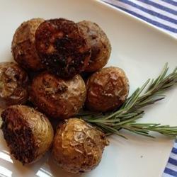 Rosemary and Lamb Crispy Roast Potatoes recipe