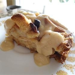 Best Bread Pudding with Vanilla Sauce recipe