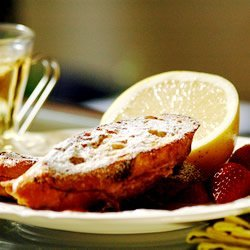 Raspberry Cheesecake Stuffed French Toast recipe