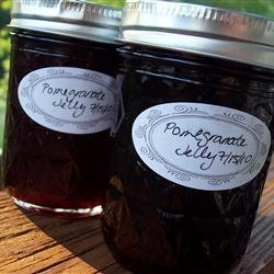 Pomegranate Jelly recipe