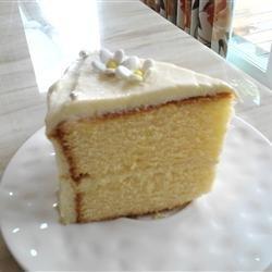Lemon Gold Cake recipe
