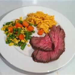 Herbed Beef in Salt Crust recipe