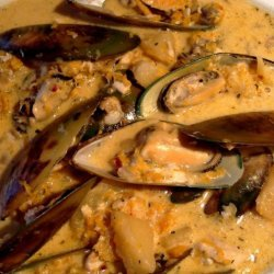 Mussel, Fish and Butternut Chowder ... or Stew! recipe