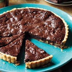 Chocolate Walnut Tart recipe