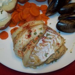 Crab Stuffed Fillet O' Fish recipe
