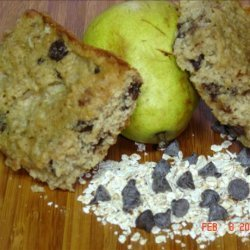 Chocolate Chip Pear Snack  Bars recipe