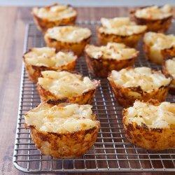 Cheesy Potato Cups recipe