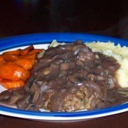 Salisbury Steak and Mushroom Gravy recipe