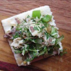 Dill Lover's Green, Green Tinned Fish Salad recipe