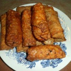 Pork and Shrimp Egg Rolls recipe