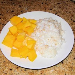 Thai Sticky Rice With Mangoes recipe