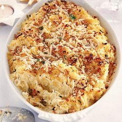 Winter Root Mash With Buttery Crumbs recipe