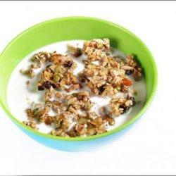 Rockin RAW Nut Granola -The Best RAW Granola. recipe