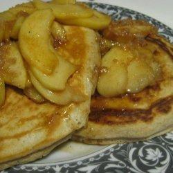 Apple Crumble Pancakes recipe