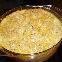 Creamy, Crunchy and Cheesy Squash Casserole recipe