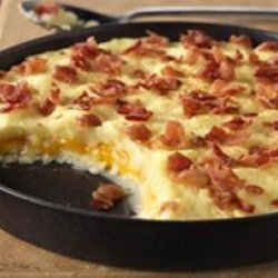 Bacon and Cheddar Mashed Potatoes recipe