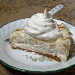 Chef Joey's Banana Coconut Cream Cheese Pie recipe