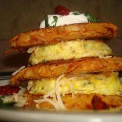 Potato Pancake Stacker recipe