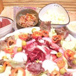 The Ravishing Reds Salad With Red Hots Dressing recipe