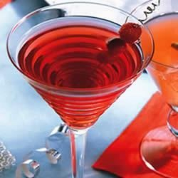 Cranberry Raspberry Flirtini recipe