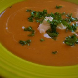 Curried Sweet Potato Bisque recipe