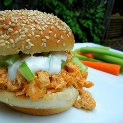 Spicy Buffalo Chicken Sandwich recipe