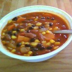 Vegetarian Spicy Chili recipe