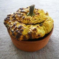 Scallop, Starship, Patisson or Pattypan Squash With Garden Herbs recipe