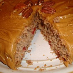Mashed Potato Spice Cake With Caramel Frosting recipe
