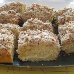 Lemon Cream Coffee Cake recipe