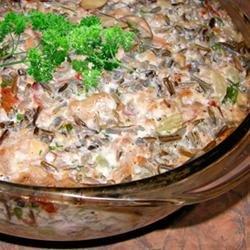Pork and Wild Rice Casserole recipe
