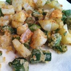 Southern Style Fried Okra recipe
