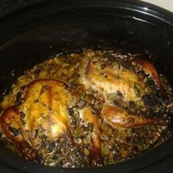 Slow Cooker Cornish Hens recipe