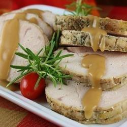 Slow Cooker Herbed Turkey Breast recipe