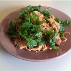 Spicy Peanut Chicken recipe