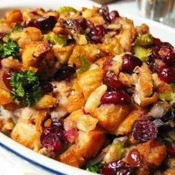 Cranberry Nut Stuffing recipe