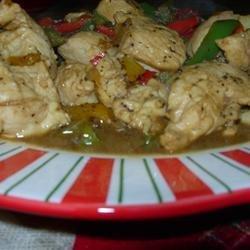 Chicken Poppy Seed Stir Fry recipe