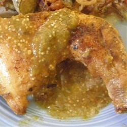 Suegra's Tomatillo Chicken recipe