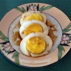 Polished Eggs recipe