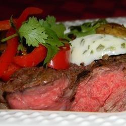 Mushroom Crusted Beef Tenderloin recipe