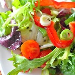 Italian Leafy Green Salad recipe