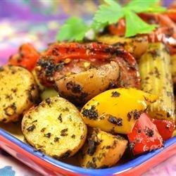 Moroccan Potato Casserole recipe