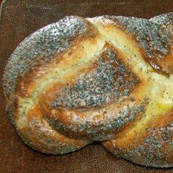 Hungarian Braided White Bread recipe